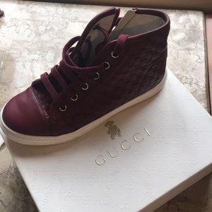 Gucci girls boot